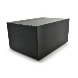 HIFI 2000 Boitier 5U 300mm - Facade 10mm Noir