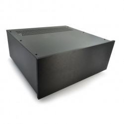 HIFI 2000 Case 4U 300mm - Front 10mm Black