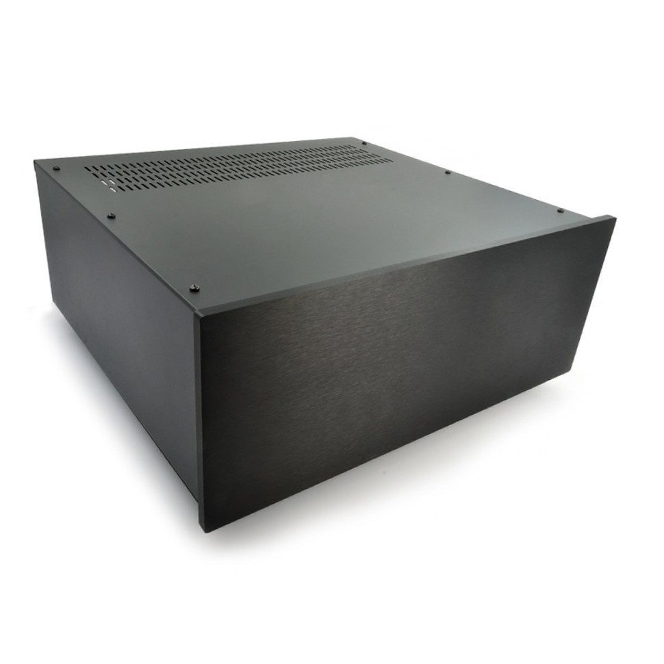 HIFI 2000 Case 4U 400mm - Front 10mm Black
