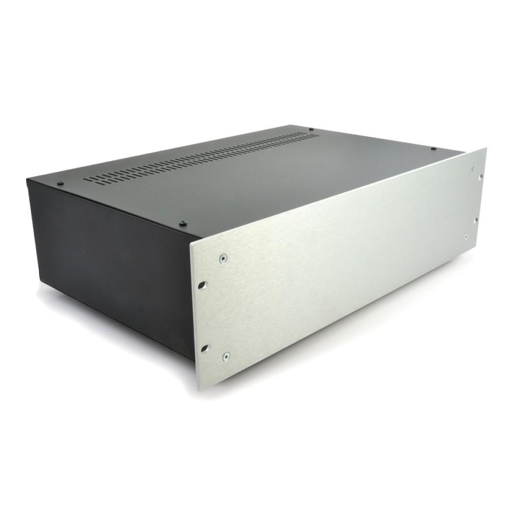 HIFI 2000 Case 3U 300mm - Front 4mm Silver