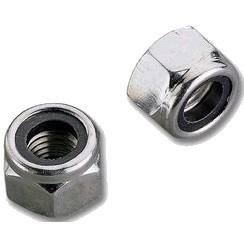 Zinc plated brake nut M3 (x10)