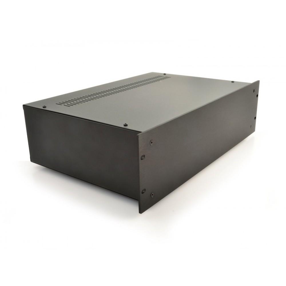 HIFI 2000 Case 3U 300mm - Front 4mm Black