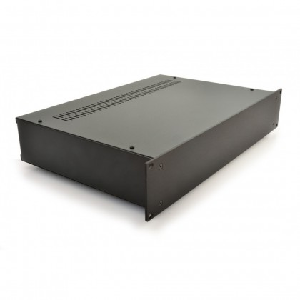 HIFI 2000 2U Chassis 300mm - 4mm front Black