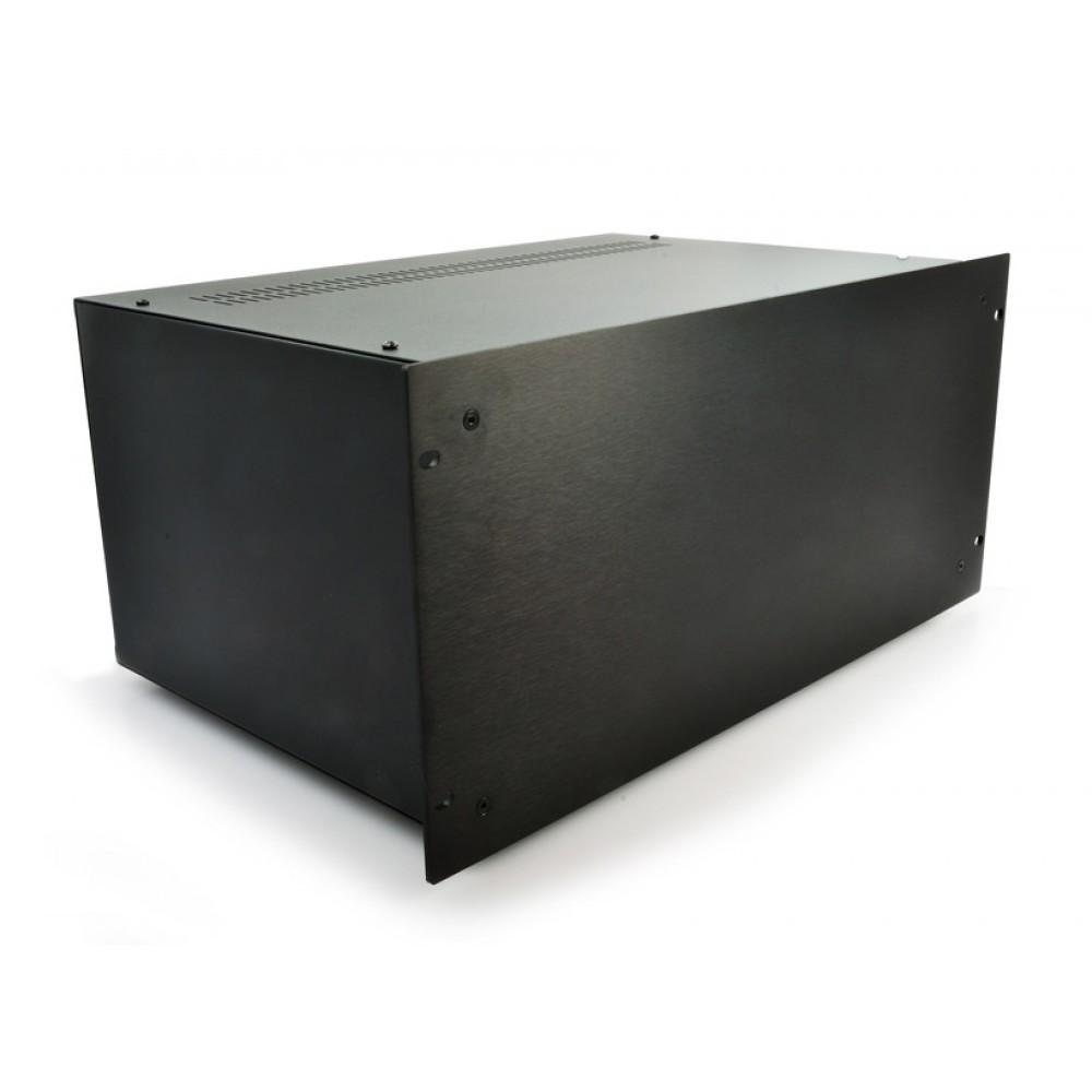 HIFI 2000 Boitier 5U 300mm - Facade 4mm Noir