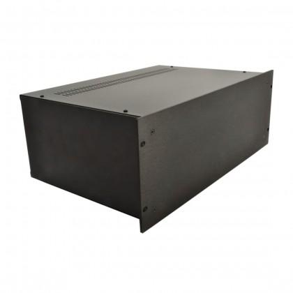 HIFI 2000 Boitier 4U 300mm - Facade 4mm Noir