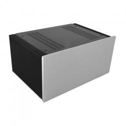 HIFI 2000 Heatsink Case 4U 300mm - Front 10mm Silver