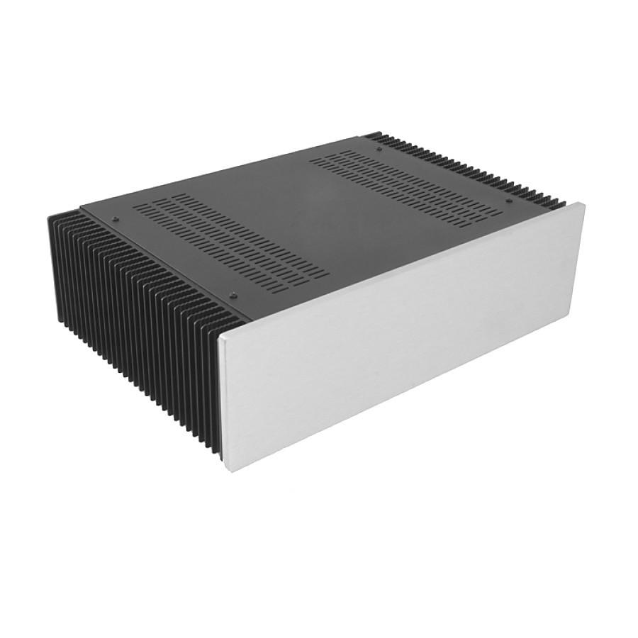 HIFI 2000 Heatsink Case 3U 300mm - Front 10mm Silver