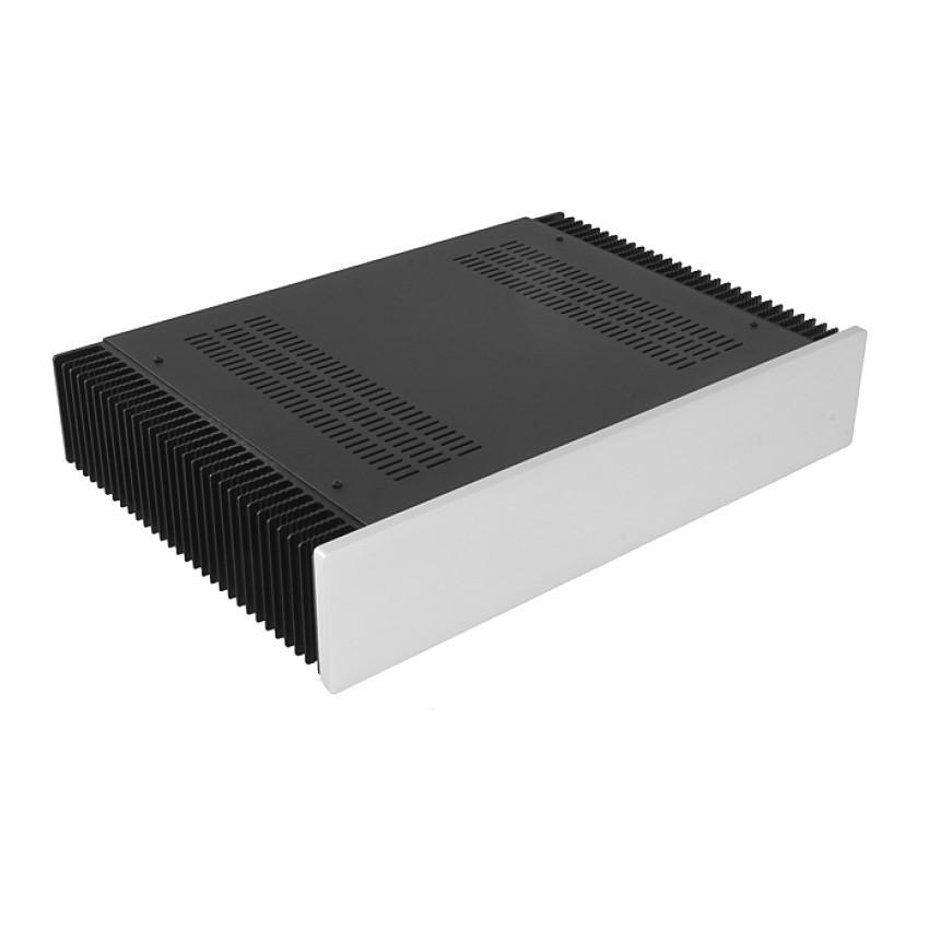 HIFI 2000 Heatsink Case 2U 300mm - Front 10mm Silver