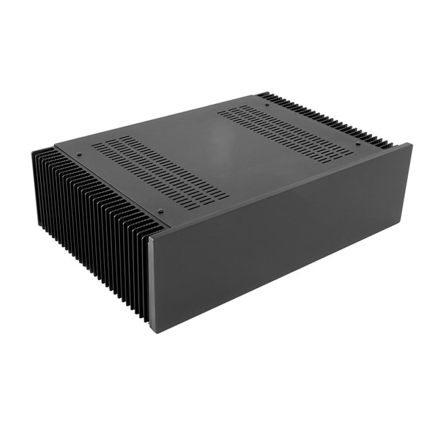 HIFI 2000 Boitier dissipateur 3U 300mm - Facade 10mm Noir