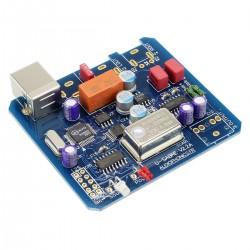 AUDIOPHONICS U-Saber DIY USB DAC 24bit / 96kHz ES9023 TCXO