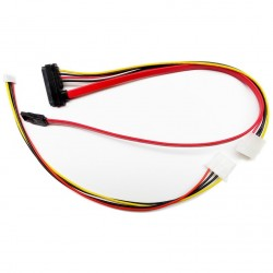 SATA 22 pin DATA and Power Combo Cable for ST300 / ST600