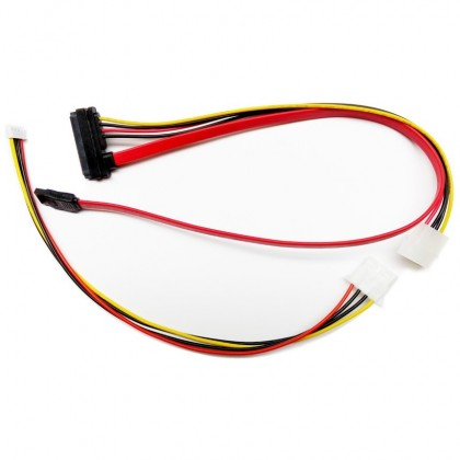 Câble SATA d'Alimentation et DATA 22 pin pour ST300