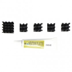 Heatsinks for Raspberry Pi & ST300 with STARS-922 Heatsink plaster