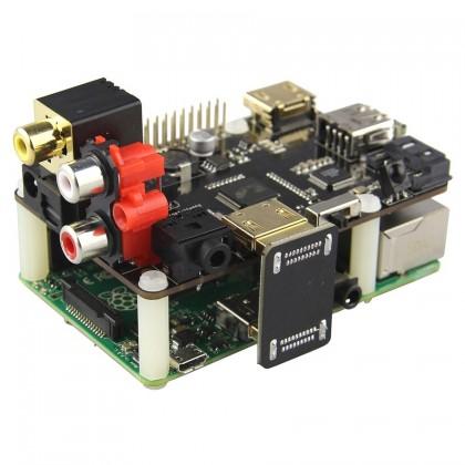 ST 600 Module HAT HDMI vers S/PDIF & RCA stéréo 5.1 1080p