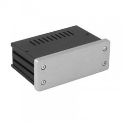 HIFI 2000 Boitier GX140 40x124x73 - Facade 10mm Silver