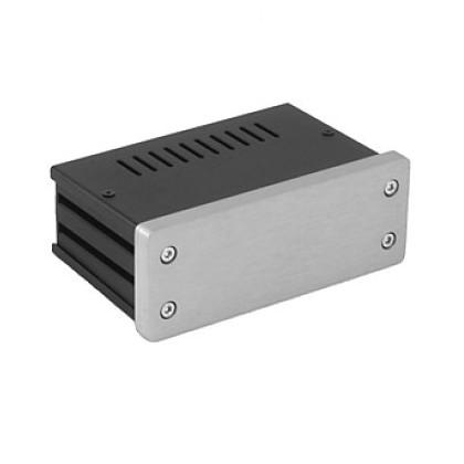HIFI2000 Boitier 10mm GX140 - 40x124x73 - Facade Silver