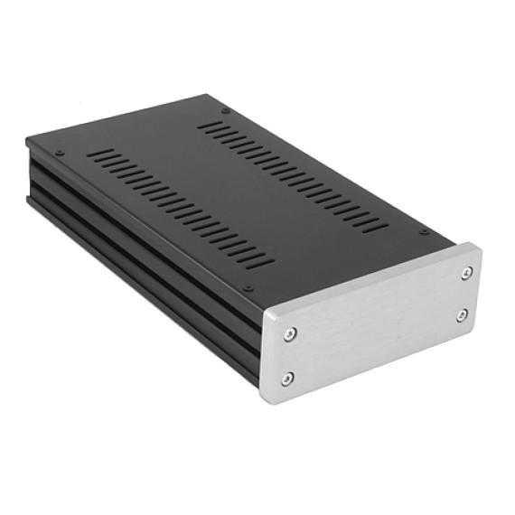 HIFI 2000 Boitier GX143 40x124x230 - Facade 10mm Silver