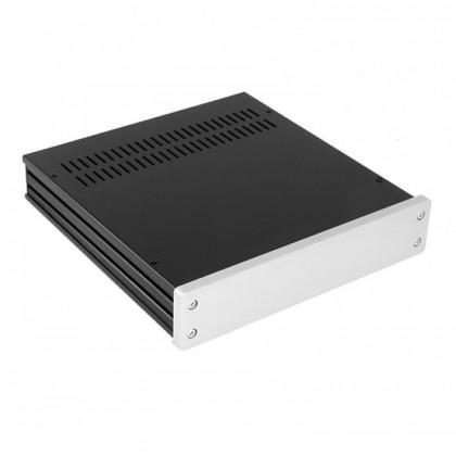 HIFI 2000 Boitier 10mm GX243 40x230x230 - Facade Silver
