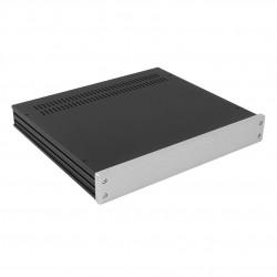 HIFI 2000 Boitier GX348 40x330x280 - Facade 10mm Silver