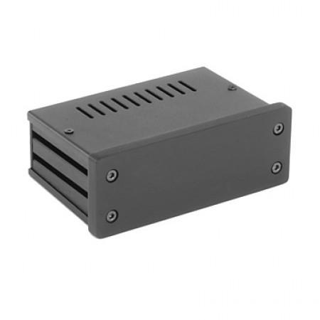 HIFI 2000 Boitier GX140 40x124x73 - Facade 10mm Noire