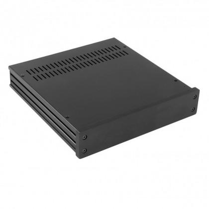 HIFI 2000 Boitier GX243 40x230x230 - Facade 10mm Noire
