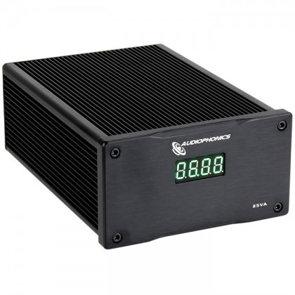 Audiophonics Alimentation Linéaire régulée double 2x 6V 2.9A 25VA