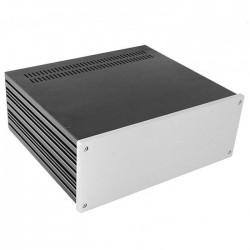 HIFI 2000 Boitier 10mm GX388 - 80x330x280 - Facade Silver