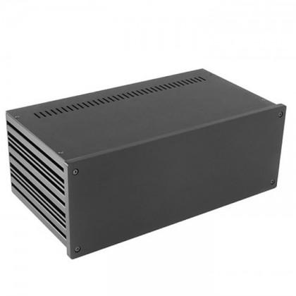 HIFI 2000 Boitier 10mm GX387 - 80x330x170 - Facade Noire