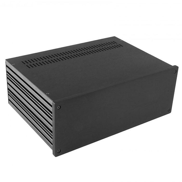HIFI 2000 Boitier 10mm GX383 - 80x330x230 - Facade Noire