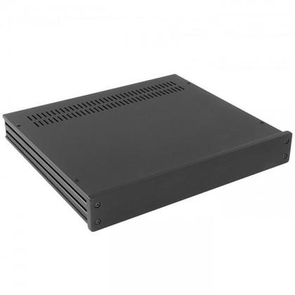HIFI 2000 Boitier 10mm GX348 - 40x330x280 - Facade Noire