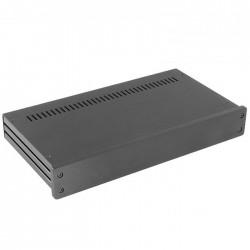 HIFI 2000 Boitier 10mm GX347 - 40x330x170 - Facade Noire