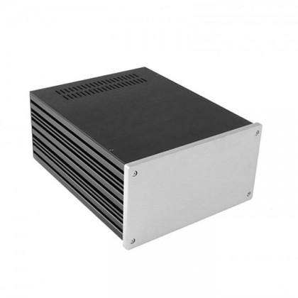HIFI 2000 Boitier 10mm GX288 - 80x230x280 - Facade Silver