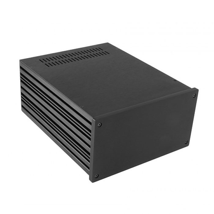 HIFI 2000 Boitier 10mm GX288 80x230x280 Façade Noire