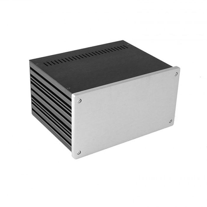 HIFI 2000 Boitier 10mm GX287 - 80x230x170 - Facade Silver