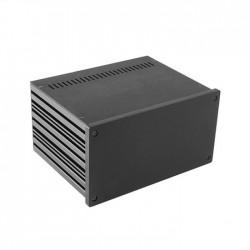 HIFI 2000 Boitier 10mm GX287 - 80x230x170 - Facade Noire