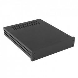 HIFI 2000 Boitier 10mm GX248 - 40x230x280 - Facade Noire