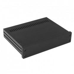 HIFI 2000 Boitier 10mm GX247 - 40x230x170 - Facade Noire