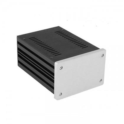 HIFI 2000 Boitier 10mm GX187 - 80x124x170 - Facade Silver