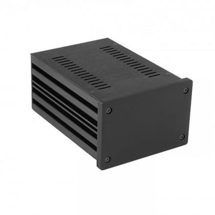 HIFI 2000 Boitier 10mm GX187 - 80x124x170 - Facade Noire