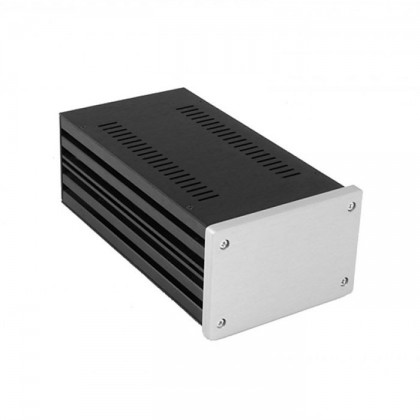 HIFI 2000 Boitier 10mm GX183 - 80x124x230 - Facade Silver