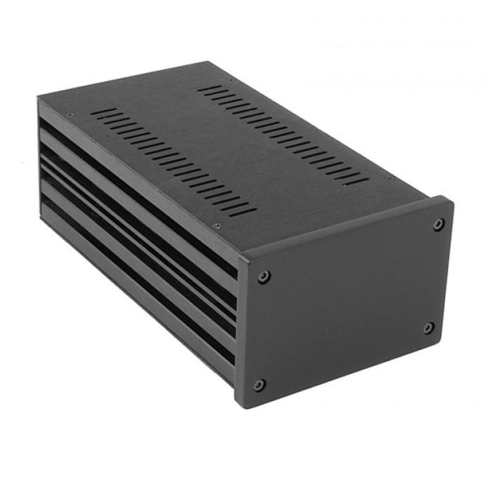 HIFI 2000 Boitier 10mm GX183 - 80x124x230 - Facade Noire