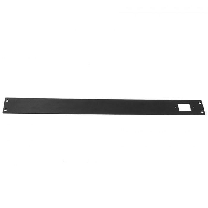 HIFI 2000 Face arrière Slimline 1U 3mm Noir