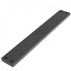HIFI 2000 Facade aluminium 10mm Noir pour GX343-347-348