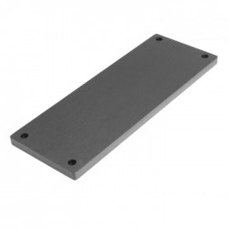 Facade aluminium 10mm Noir pour GX283-287-288