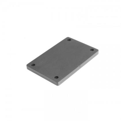 HIFI 2000 Facade aluminium 10mm Noir pour GX183-187-188