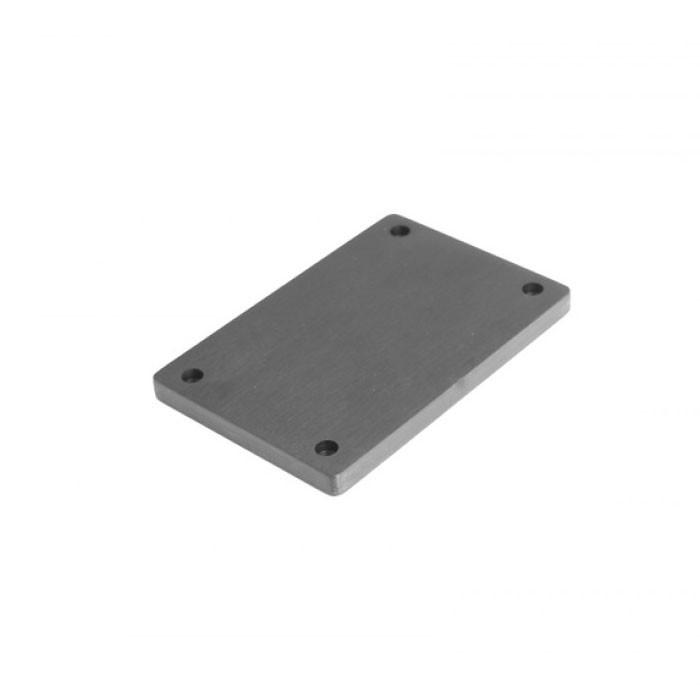 Facade aluminium 10mm Noire pour GX183-187-188