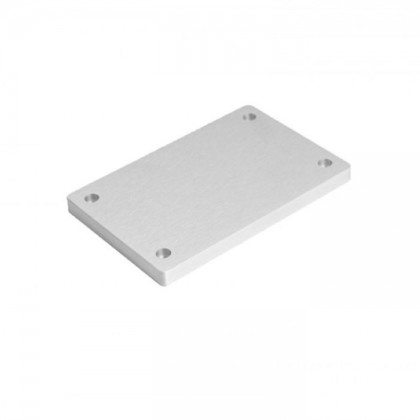 HIFI 2000 Facade aluminium 10mm silver pour GX183-187-188