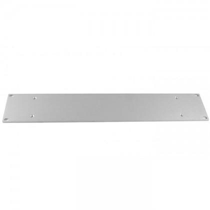 Facade aluminium 4mm 2U Silver