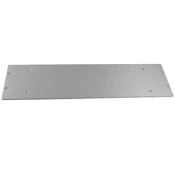 Facade aluminium 4mm 3U Silver