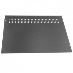 HIFI 2000 Capot Aluminium pour Boîtier GALAXY GX348-388 (Black)